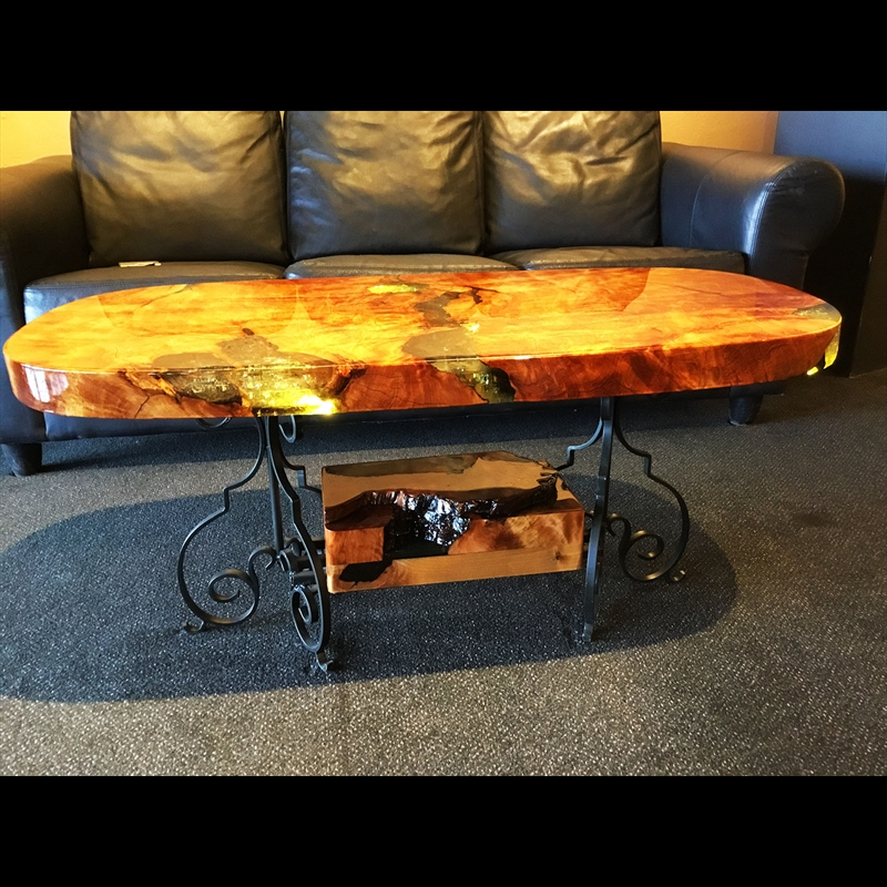 Alligator Juniper Coffee Table, 2018