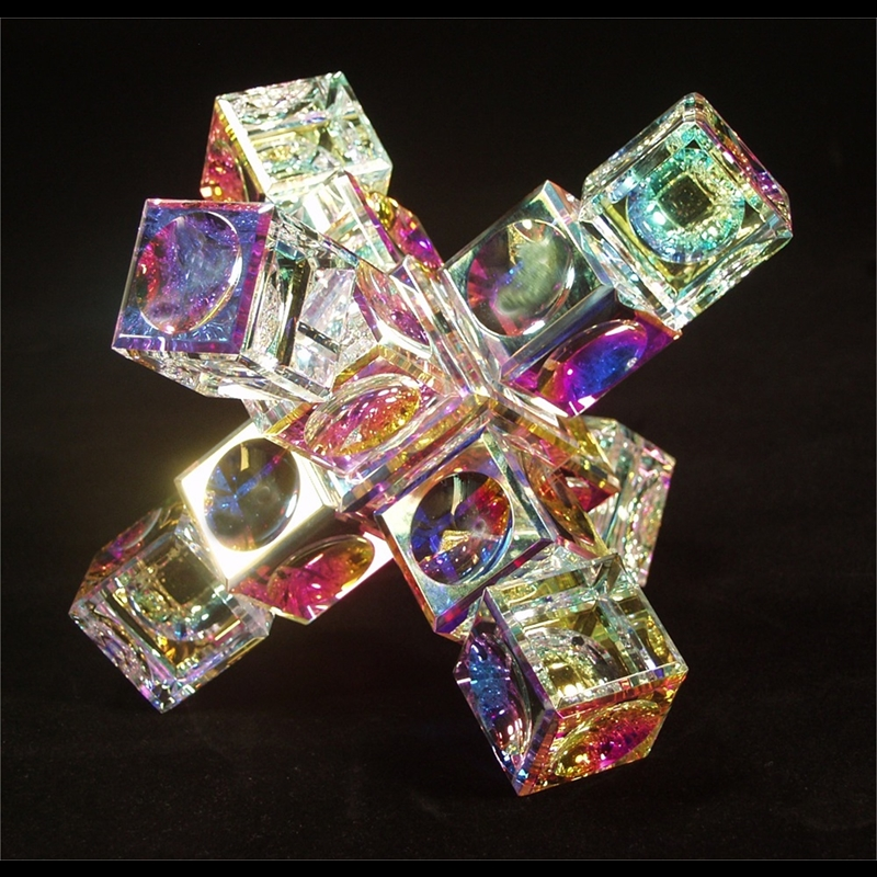 """Crystal Space Station 50/40mm(2""""1 1/2"""")"""