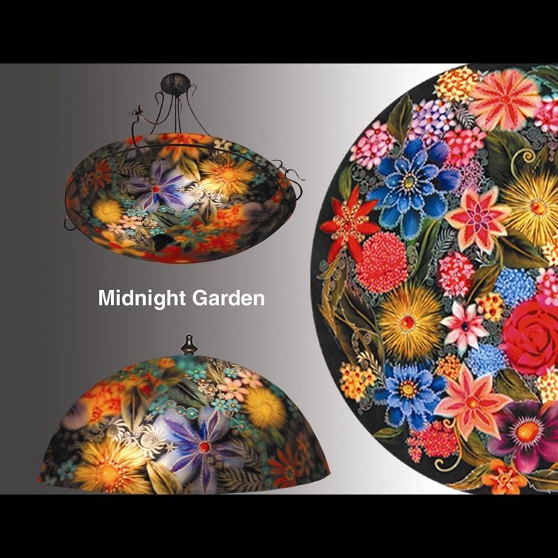 """Display Midnight Garden Blue 32"""" - S"""