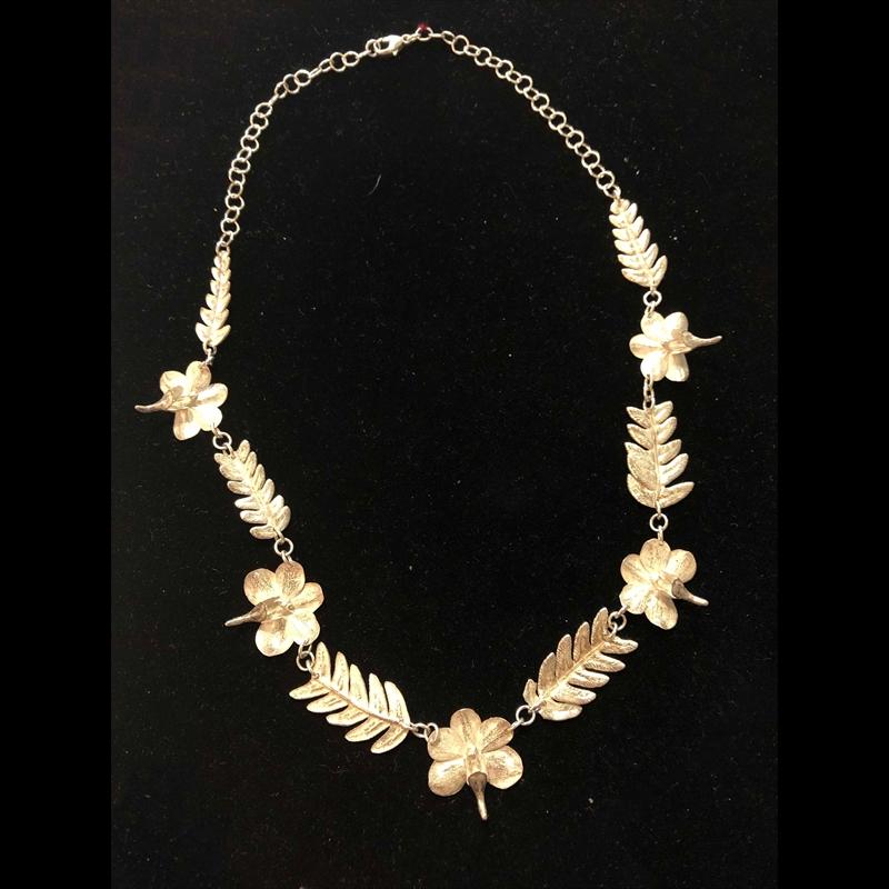 Large Fern Necklace