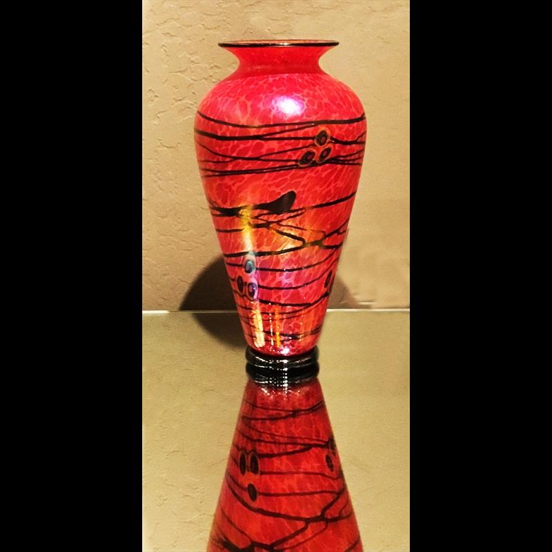 Phoenix Tall Vase-S