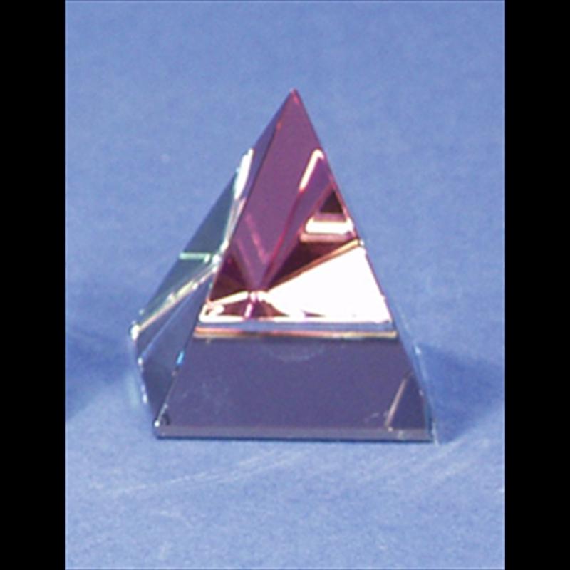 Crystal Pyramid 70mm x 90mm-S