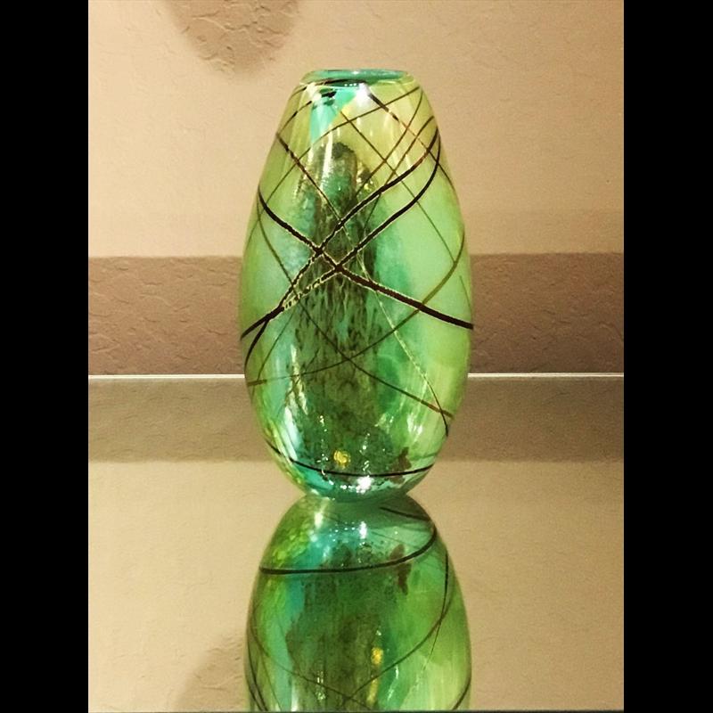 Brocade Vase SK-66, 2018