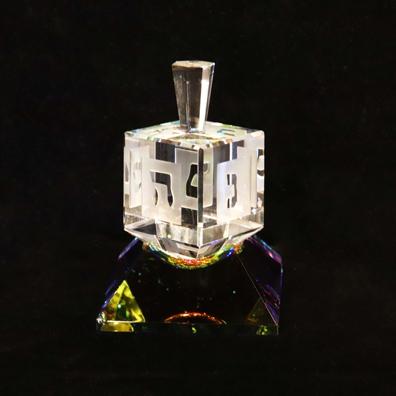 Crystal Dreidel Medium