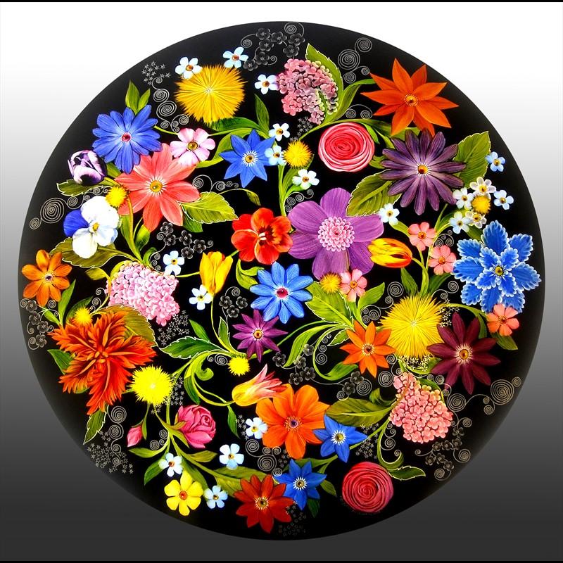 Design Midnight Garden - Black - PO