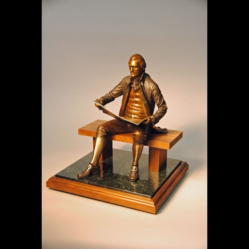 Thomas Jefferson Maquette (27/100)
