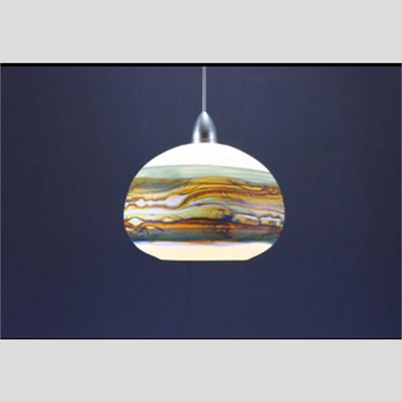 Opal Sage Pendant LIght