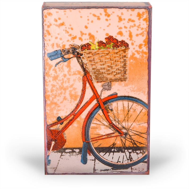 """Fresh Ride """"My favorite thing to do is go where I've never been."""" - Diane Arbus (Edition )"""