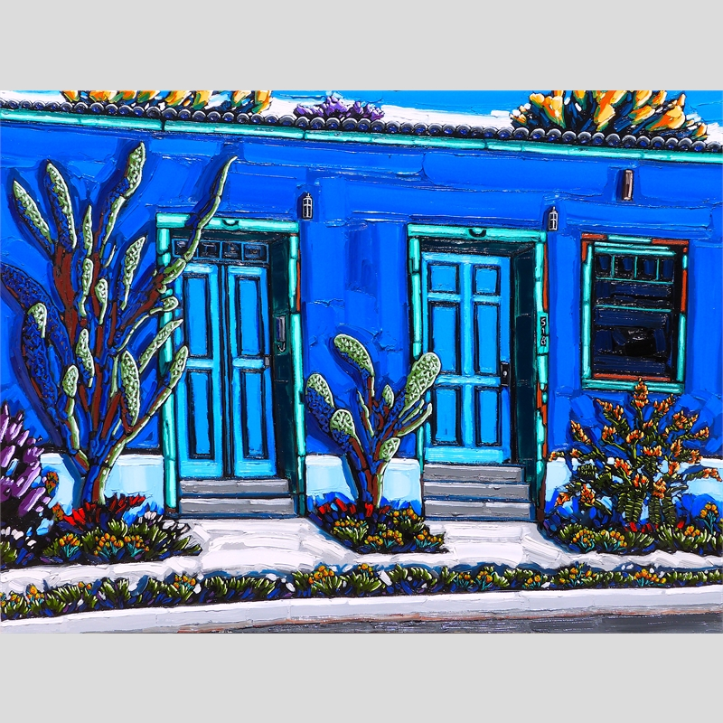Blue Spring Harmony, Tucson Barrio