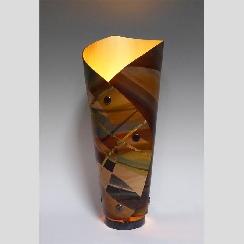 Wood Tones Lamp
