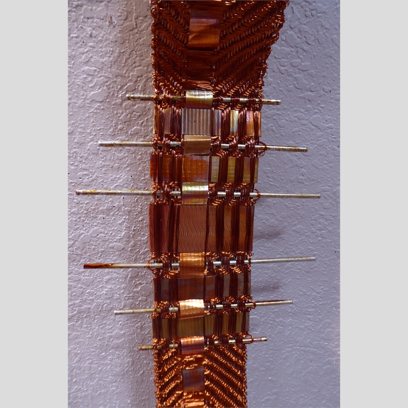 Shangri' La Copper with Copper Rods