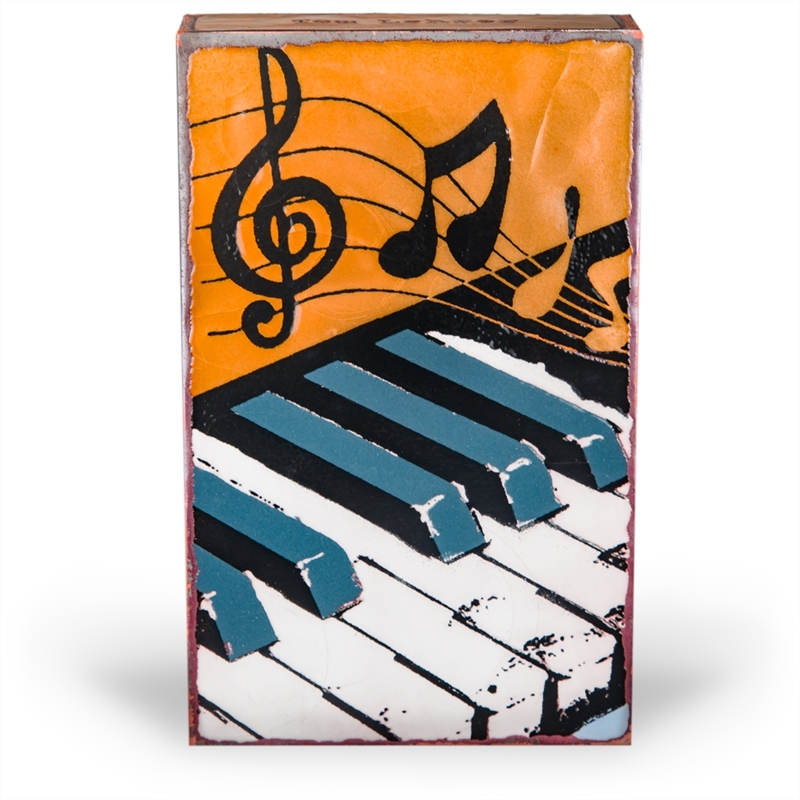 """Tickled Ivory """"Life is like a piano. What you get depends on how you play it."""" - Tom Lehrer  (Edition )"""