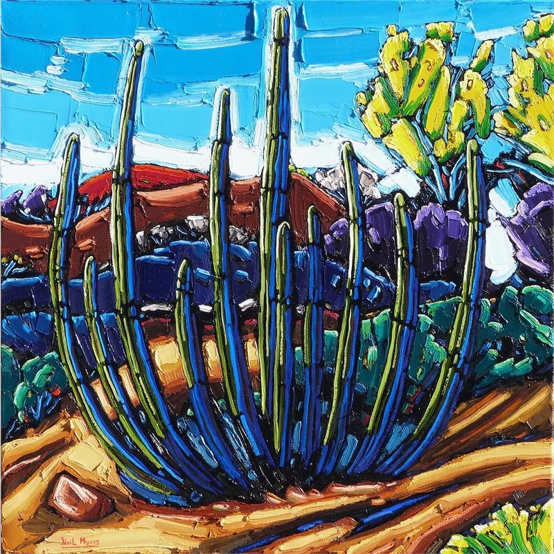 Organ Pipe Cactus, Morning Light