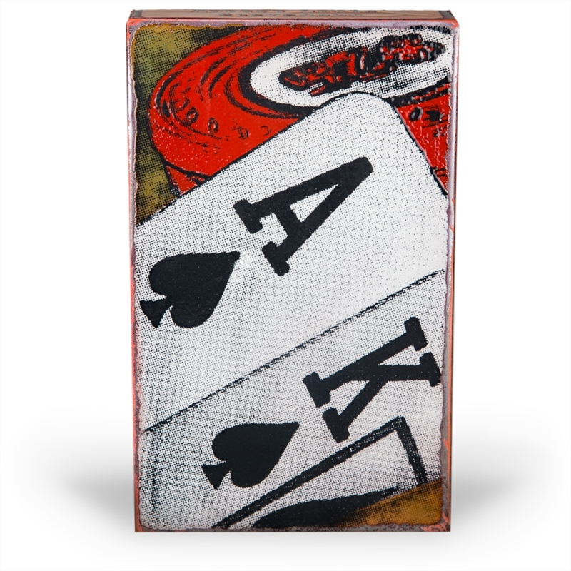 """All In  """"Life is more than holding good cards; it's about playing your hand well."""" - Robert Louis Stevenson ~Retiring Tile"""