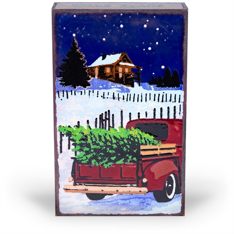 """Yuletide """"Christmas is love in action"""" Dale Evens. Limited Release Tile"""