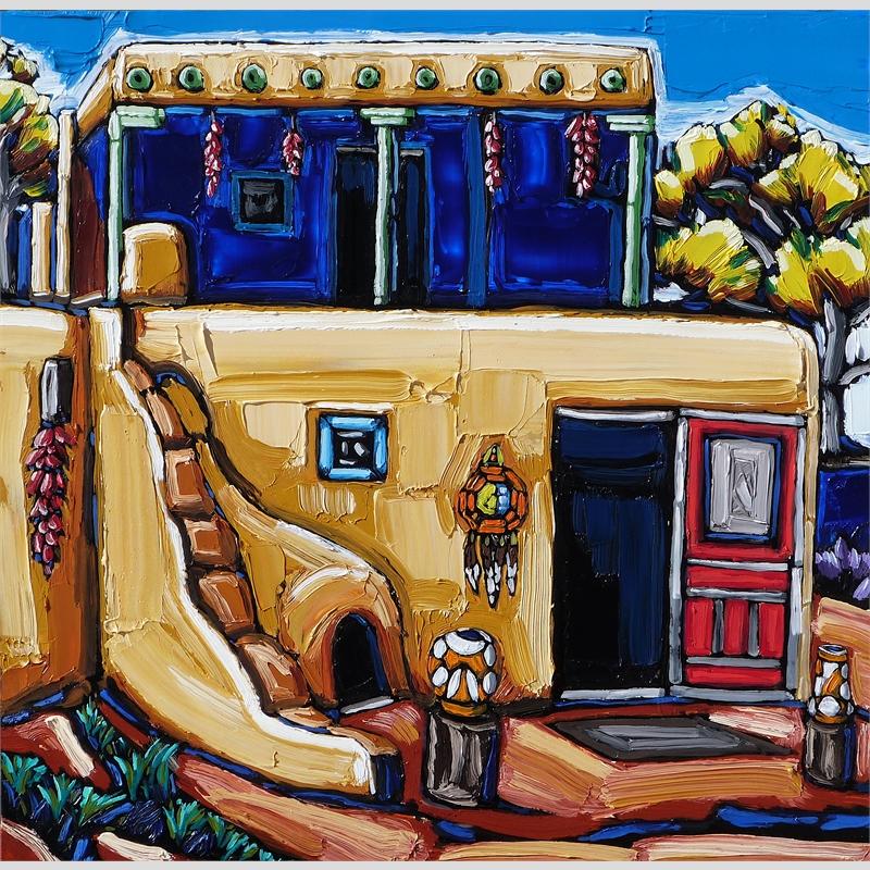 Pottery Shop, Taos Pueblo
