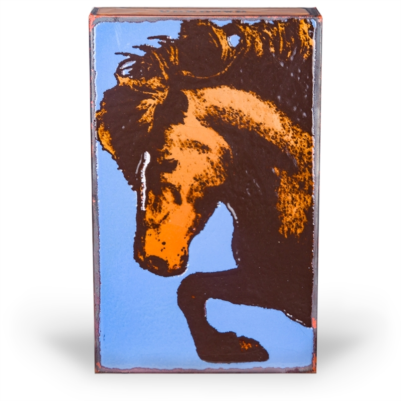 """Thoroughbred """"To ride a horse is to ride the sky."""" - Unknown ~ Retiring Tile"""
