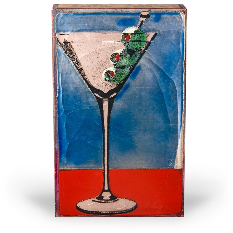 """Shaken """"I like to have a martini, two at the most. Three I'm under the table, four I'm under the host."""" - Dorothy Parker (Edition )"""