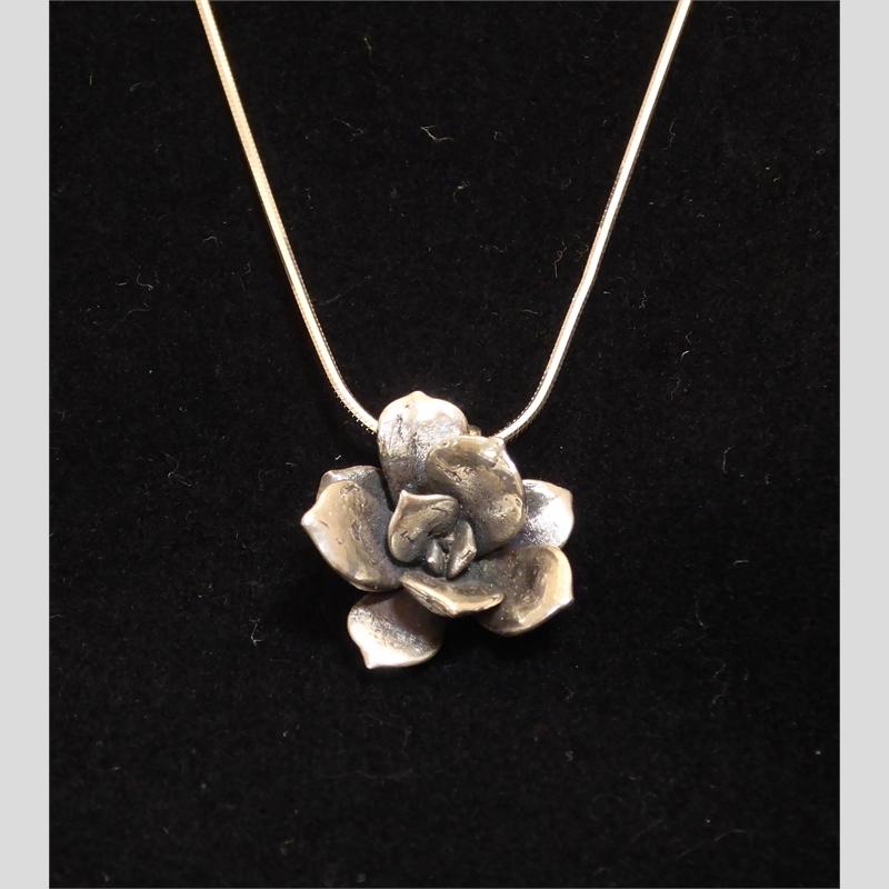 Cast Succulent Pendant, small