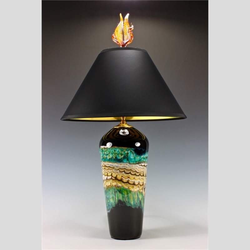 Black Opal Table Lamp
