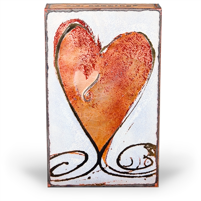 """Turner Heart II """"i carry your heart with me (i carry it in my heart)"""" - E.E. Cummings"""