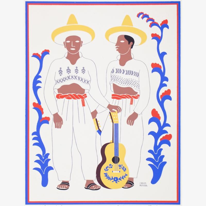 Chontales. Estado De Tabasco. (Framed), 1945