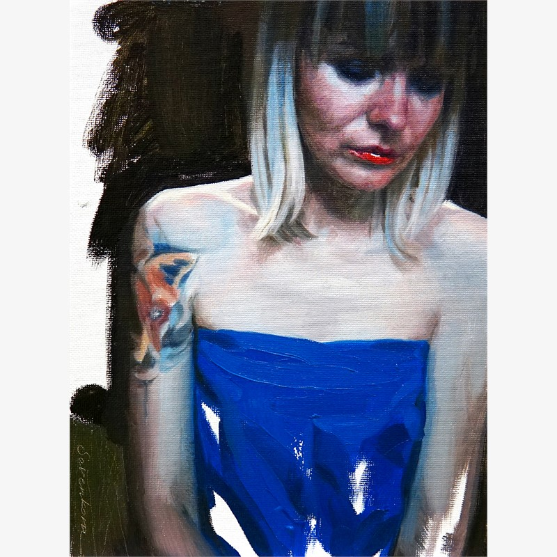 Girl in Blue, 2018