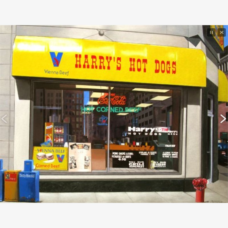 Harry's Hot Dog Stand