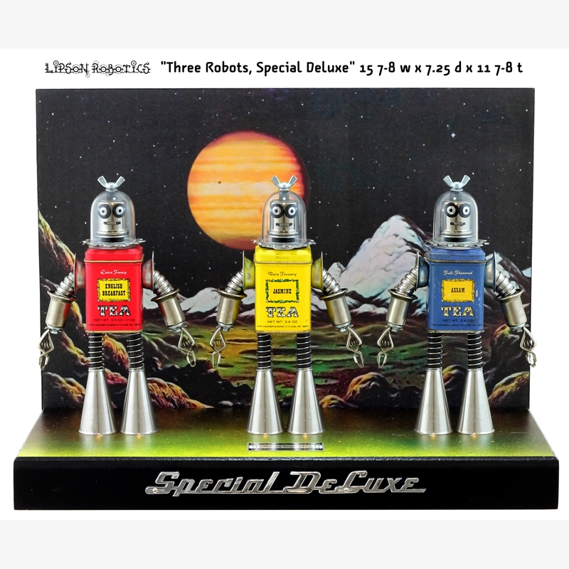Three Robots Special Deluxe by David Lipson