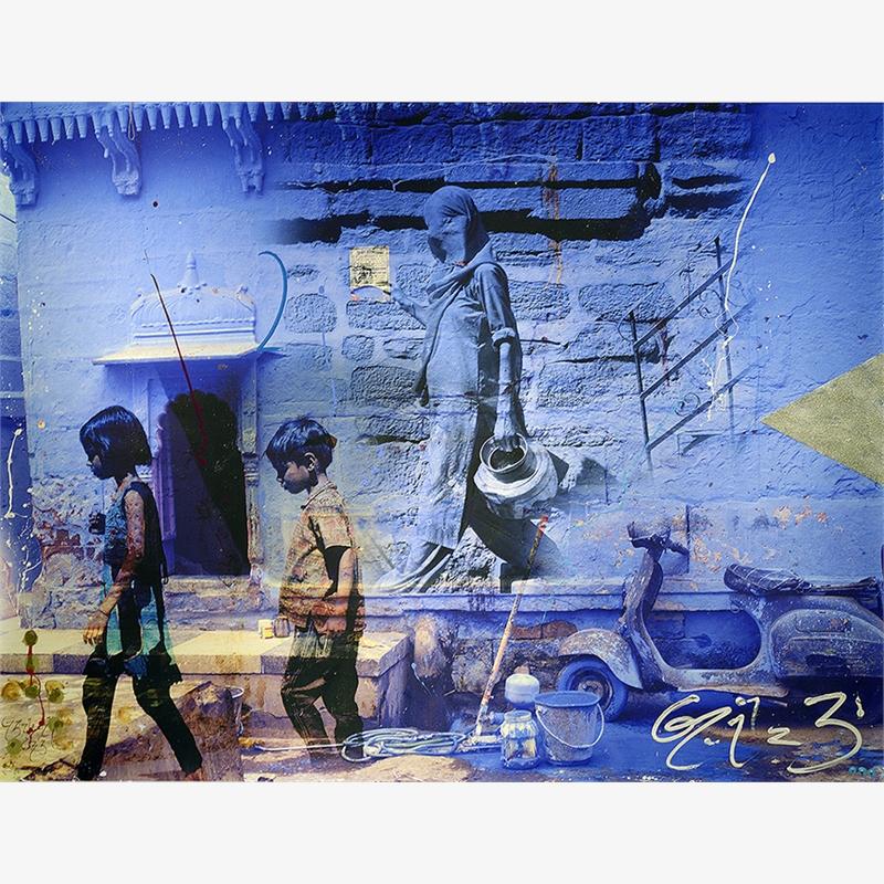 Jodphur Wall by Arno Elias