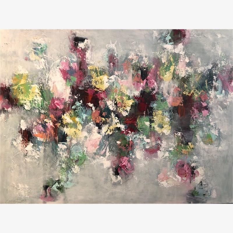 Spring Garden Abstract, 2018