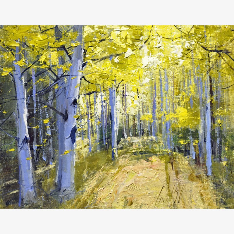 Yellow Woods II