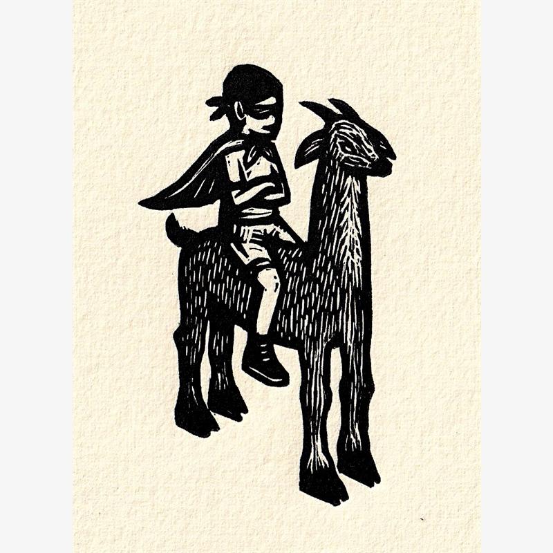 Untitled (Llama) (41/50), 2018