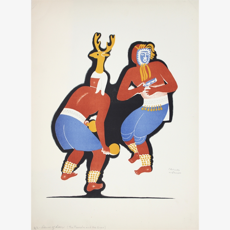The Pascola and the Deer, ca. 1930-37
