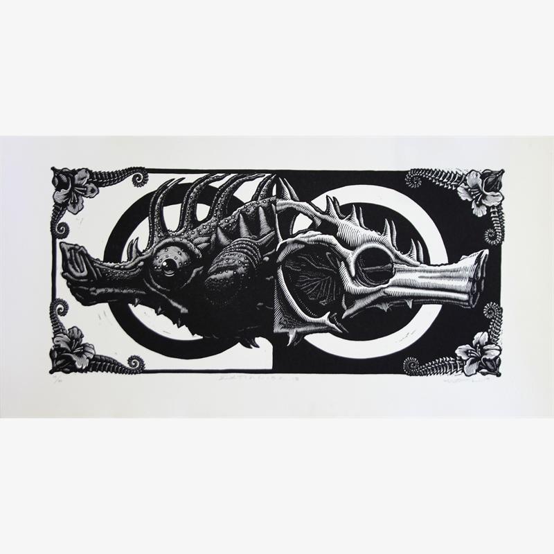 Extincion XIII (Lined Seahorse) (14/33), 2020