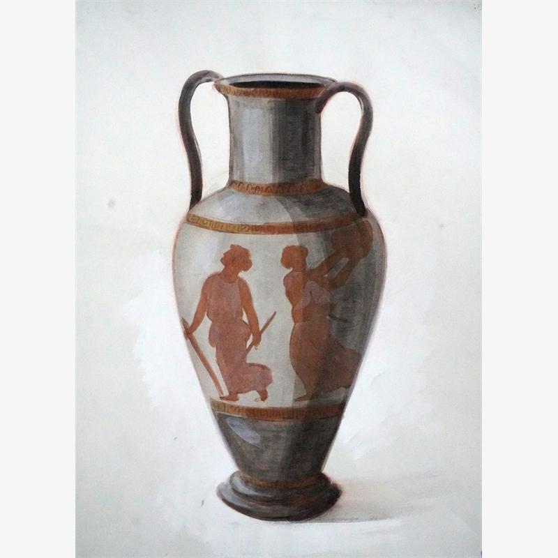 Greek Vase II, 2019