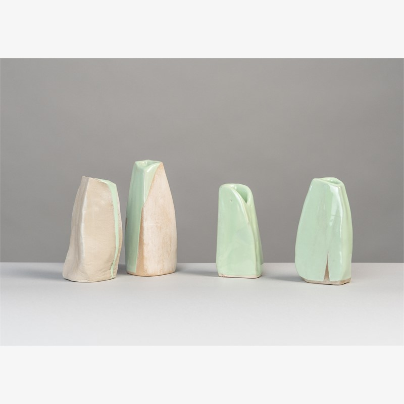 """Springtime"" 10 small vases , 2019"