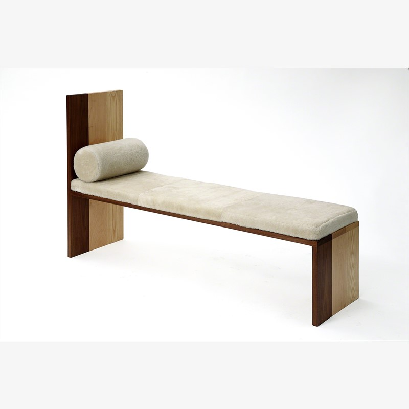 Maple Ash Walnut Bench , 2015