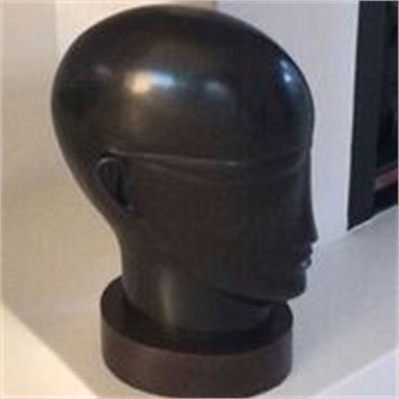 Small Black Head (10/10), 2018