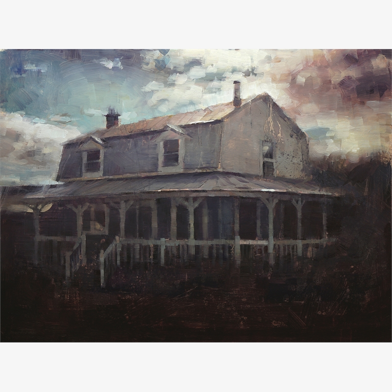 Old House by Nicolas Martin