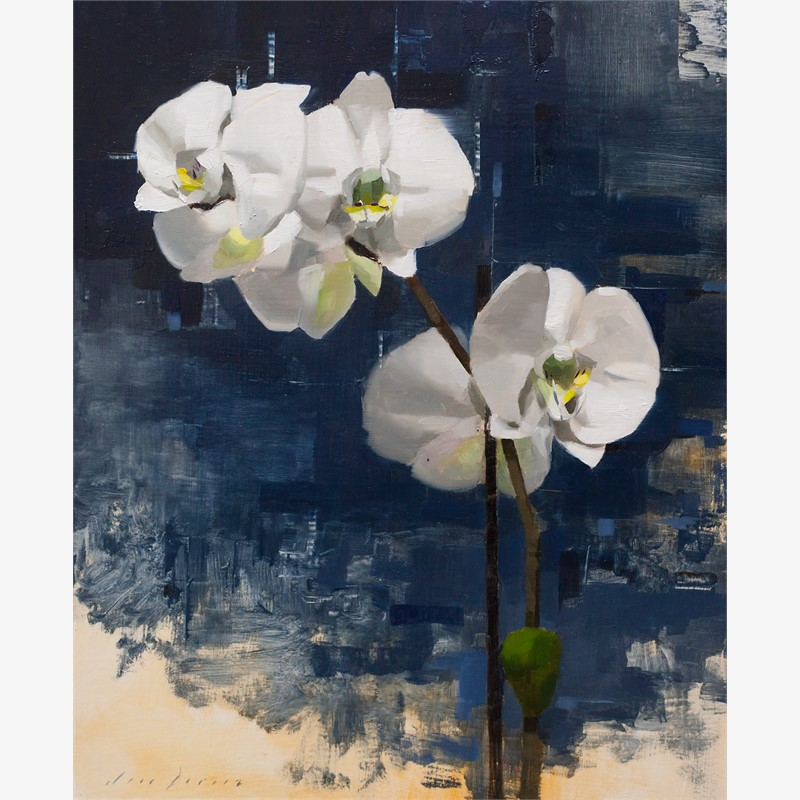 Orchid and Blue, 2018
