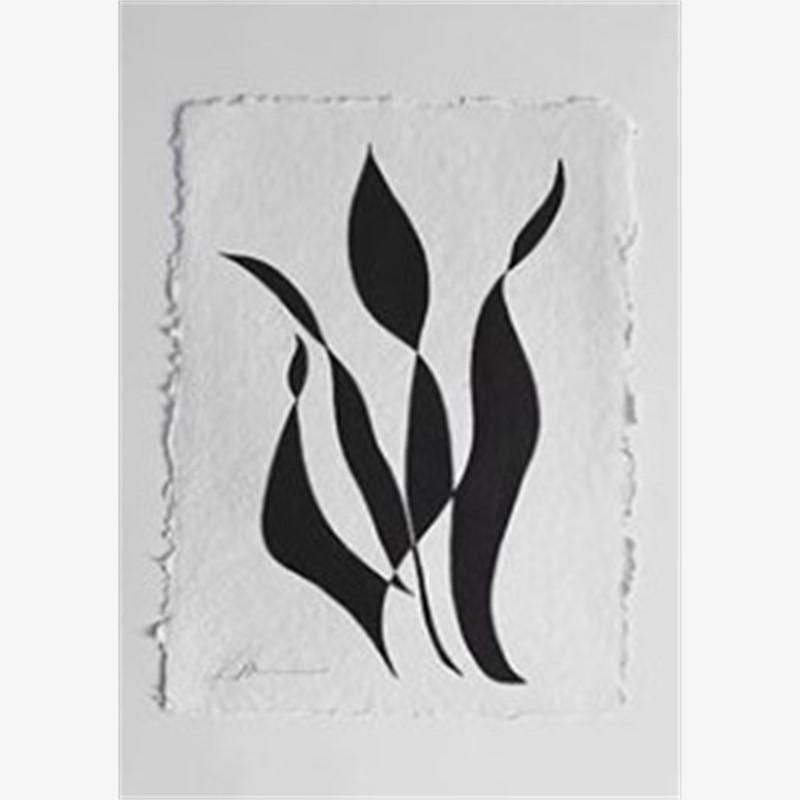 Flourish Series Continuous Line Botanicals 5, 2018