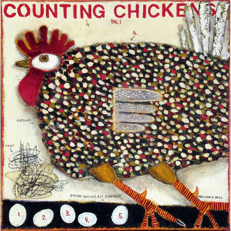 Counting Chickens, 2018