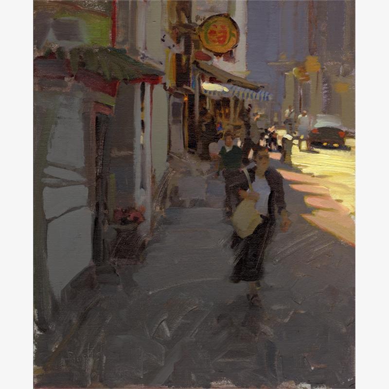 A Street in Terracina by Kim English
