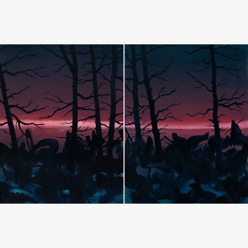 The Silencers (Diptych)