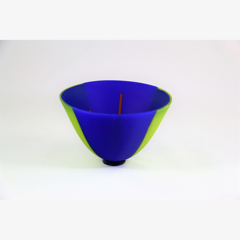 Exquisite Bowl- Blue & Green, 2018