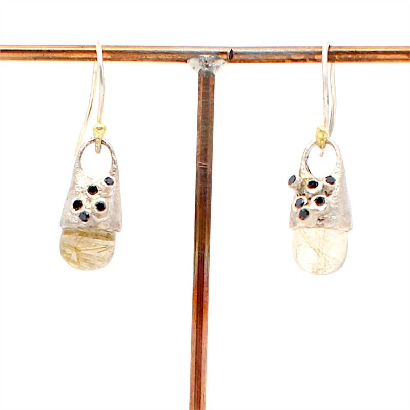 Hive Remnant Earrings, 2019