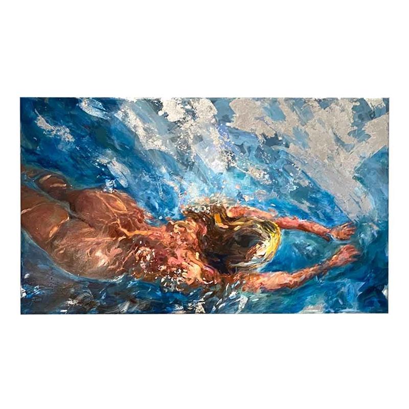 Nude swimmer #2, 2020