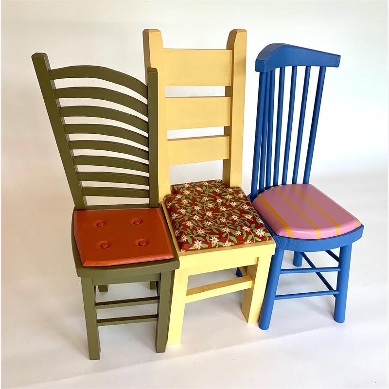 Three Chairs, 2019