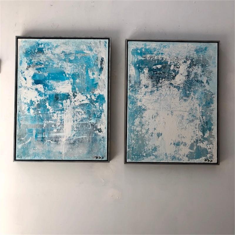 Blue 1 & 2, 2019